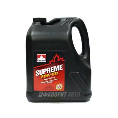 Моторное масло PC SUPREME 20W-50, 4л, полусинтетическое