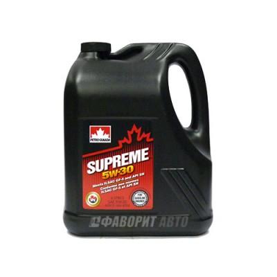 Купить масло PC Supreme 5W-30, 4л, полусинтетическое