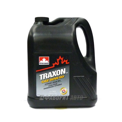 Трансмиссионное масло PC TRAXON 80W-90, 4л, минеральное