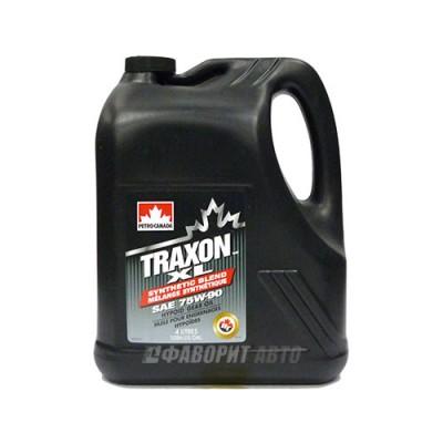 Трансмиссионное масло PC TRAXON XL SYNTHETIC BLEND 75W-90, 4л, полусинтетическое