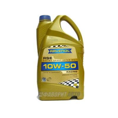 Моторное масло RAVENOL Racing Sport Este 10W-50, 4л, синтетическое