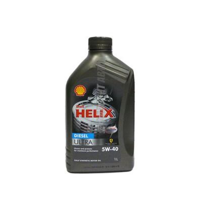 Моторное масло SHELL Helix Diesel ULTRA 5W-40, 1л, синтетическое