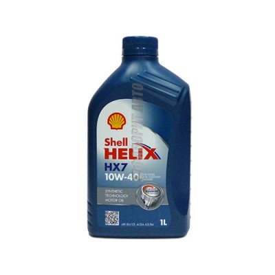 Моторное масло SHELL Helix HX7 10W-40, 1л, полусинтетическое