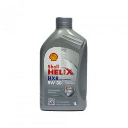 SHELL Helix HX8 5W30   1л синт серый