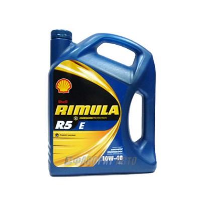 Моторное масло SHELL Rimula R5 E 10W-40, 4л, полусинтетическое
