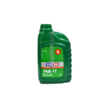 Трансмиссионное масло PILOTS ТАД-17 (ТМ 5-18), 1л, минеральное