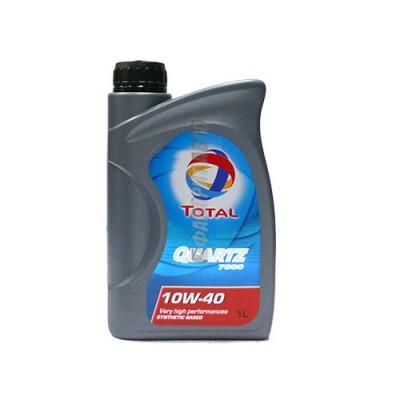 Моторное масло TOTAL Quartz 7000 10W-40, 1л, полусинтетическое
