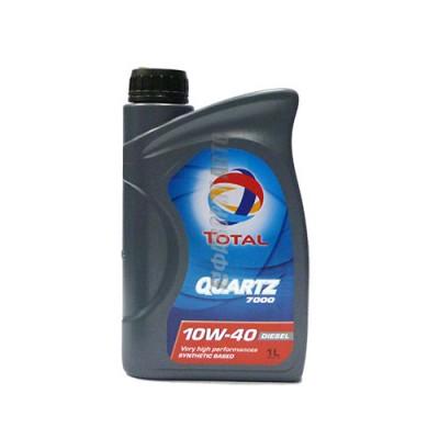 Моторное масло TOTAL Quartz Diesel 7000 10W-40, 1л, полусинтетическое