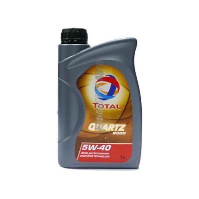 Моторное масло TOTAL Quartz 9000 5W-40, 1л, синтетическое
