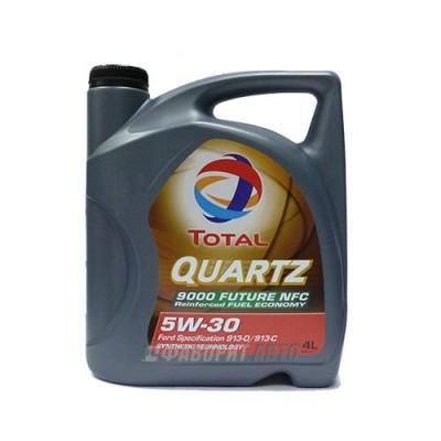 Моторное масло TOTAL Quartz 9000 Future (NFC) 5W-30, 4л, синтетическое