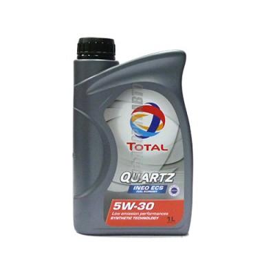 Моторное масло TOTAL Quartz INEO ECS 5W-30, 1л, синтетическое