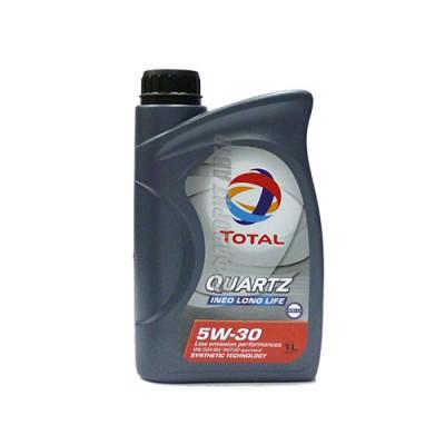 Моторное масло TOTAL Quartz INEO LONG LIFE 5W-30, 1л, синтетическое