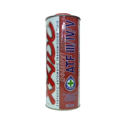 Трансмиссионное масло XADO Atomic Oil ATF III/IV/V, 1л, синтетическое