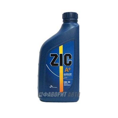 Моторное масло ZIC A+ 5W-30, 1л, полусинтетическое