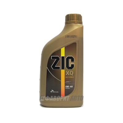 Моторное масло ZIC XQ 0W-40, 1л, синтетическое