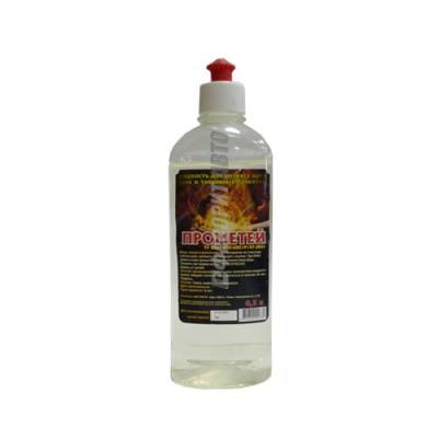 """Жидкость для розжига """"Прометей"""" (с колпачком) 0.5л"""