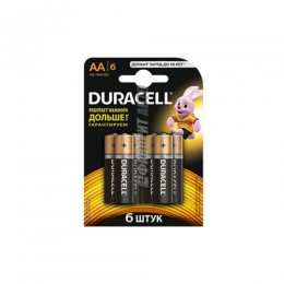 Батарея Duracell LR6 BL6 5566