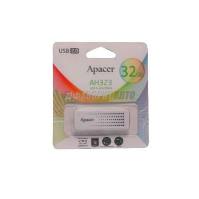Флеш Apacer USB 32GB AH323 White 3202