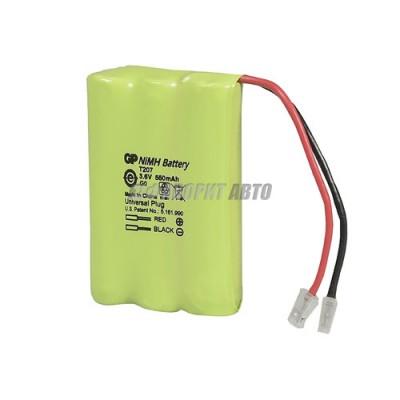 Батарея GP T 207 3.6 V 550mAh (для телефона) 2635