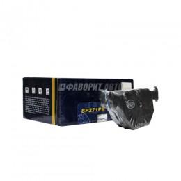 Колодки тормозные SCT SP271 BMW E46/E38/X5 (E53)